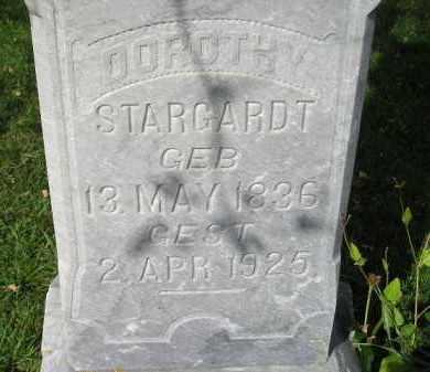 STARGARDT, DOROTHY - Codington County, South Dakota | DOROTHY STARGARDT - South Dakota Gravestone Photos