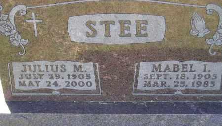 STEE, MABEL IRENE - Codington County, South Dakota | MABEL IRENE STEE - South Dakota Gravestone Photos
