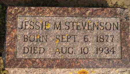 STEVENSON, JESSIE M. - Codington County, South Dakota | JESSIE M. STEVENSON - South Dakota Gravestone Photos