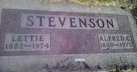 STEVENSON, ALFRED - Codington County, South Dakota | ALFRED STEVENSON - South Dakota Gravestone Photos