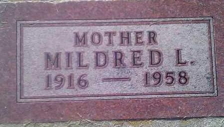STEVENSON, MILDRED L - Codington County, South Dakota   MILDRED L STEVENSON - South Dakota Gravestone Photos