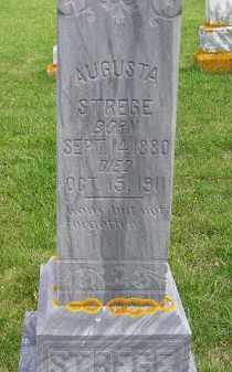 STREGE, AUGUSTA - Codington County, South Dakota | AUGUSTA STREGE - South Dakota Gravestone Photos