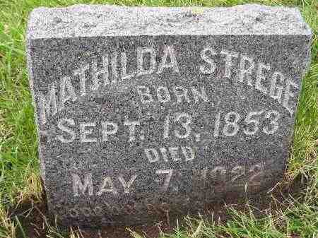 STREGE, MATHILDA - Codington County, South Dakota | MATHILDA STREGE - South Dakota Gravestone Photos