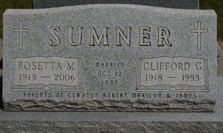 SUMNER, ROSETTA M. - Codington County, South Dakota   ROSETTA M. SUMNER - South Dakota Gravestone Photos