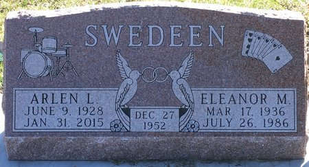 SWEDEEN, ARLEN LINDY - Codington County, South Dakota | ARLEN LINDY SWEDEEN - South Dakota Gravestone Photos