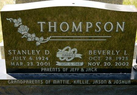 THOMPSON, BEVERLY L. - Codington County, South Dakota | BEVERLY L. THOMPSON - South Dakota Gravestone Photos