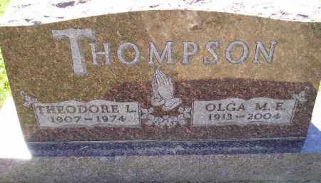THOMPSON, OLGA MYRTLE ELVIRA - Codington County, South Dakota | OLGA MYRTLE ELVIRA THOMPSON - South Dakota Gravestone Photos