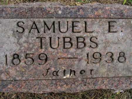 TUBBS, SAMUEL EVERETT - Codington County, South Dakota   SAMUEL EVERETT TUBBS - South Dakota Gravestone Photos