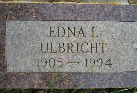 ULBRICHT, EDNA LOUISA - Codington County, South Dakota | EDNA LOUISA ULBRICHT - South Dakota Gravestone Photos