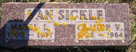 VAN SICKLE, CLAUDE VOLNEY - Codington County, South Dakota | CLAUDE VOLNEY VAN SICKLE - South Dakota Gravestone Photos