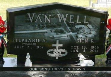 VAN WELL, STEPHANIE A. - Codington County, South Dakota | STEPHANIE A. VAN WELL - South Dakota Gravestone Photos