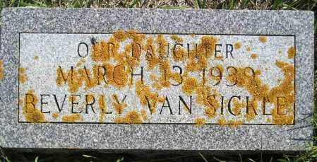 VAN SICKLE, BEVERY CAROL - Codington County, South Dakota   BEVERY CAROL VAN SICKLE - South Dakota Gravestone Photos
