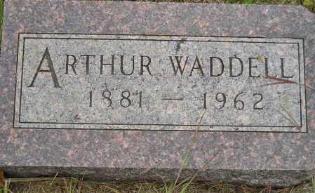 WADDELL, ARTHUR - Codington County, South Dakota   ARTHUR WADDELL - South Dakota Gravestone Photos