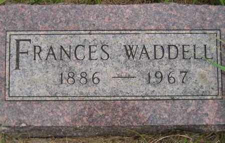 IBBITSON WADDELL, FRANCES - Codington County, South Dakota | FRANCES IBBITSON WADDELL - South Dakota Gravestone Photos