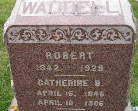 WADDELL, ROBERT ARTHUR - Codington County, South Dakota | ROBERT ARTHUR WADDELL - South Dakota Gravestone Photos