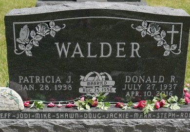 WALDER, DONALD R. - Codington County, South Dakota | DONALD R. WALDER - South Dakota Gravestone Photos