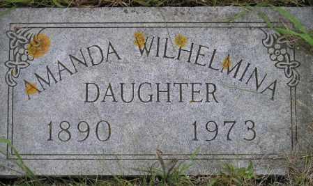 WALSTEN, AMANDA WILHELMINA - Codington County, South Dakota | AMANDA WILHELMINA WALSTEN - South Dakota Gravestone Photos