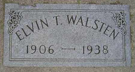 WALSTEN, ELVIN T. - Codington County, South Dakota | ELVIN T. WALSTEN - South Dakota Gravestone Photos