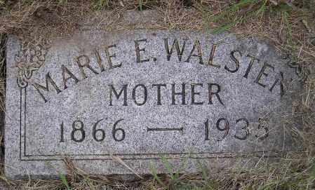 WALSTEN, MARIE EVELYN - Codington County, South Dakota | MARIE EVELYN WALSTEN - South Dakota Gravestone Photos