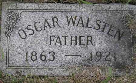 WALSTEN, OSCAR - Codington County, South Dakota | OSCAR WALSTEN - South Dakota Gravestone Photos