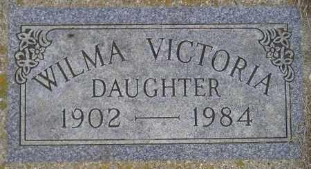 WALSTEN, WILMA VICTORIA - Codington County, South Dakota | WILMA VICTORIA WALSTEN - South Dakota Gravestone Photos