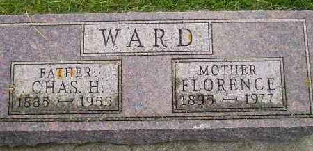 WARD, CHAS. H. - Codington County, South Dakota | CHAS. H. WARD - South Dakota Gravestone Photos