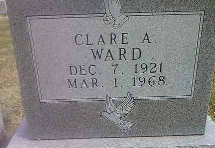 WARD, CLARE A - Codington County, South Dakota | CLARE A WARD - South Dakota Gravestone Photos