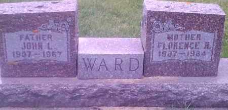 WARD, FLORENCE N - Codington County, South Dakota | FLORENCE N WARD - South Dakota Gravestone Photos