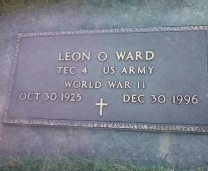 WARD, LEON O - Codington County, South Dakota   LEON O WARD - South Dakota Gravestone Photos