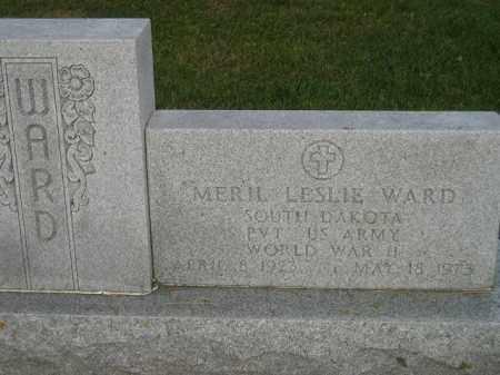 WARD, MERIL LESLIE - Codington County, South Dakota | MERIL LESLIE WARD - South Dakota Gravestone Photos