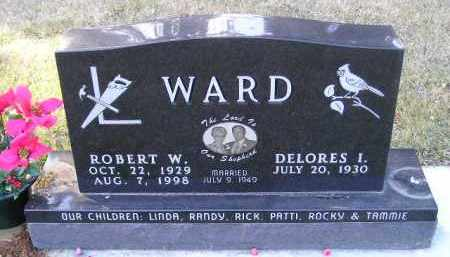 WARD, DELORES I. - Codington County, South Dakota | DELORES I. WARD - South Dakota Gravestone Photos