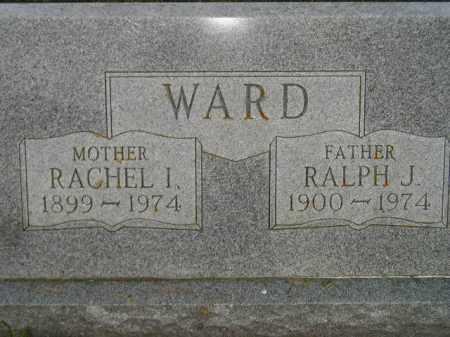 WARD, RACHEL I. - Codington County, South Dakota | RACHEL I. WARD - South Dakota Gravestone Photos