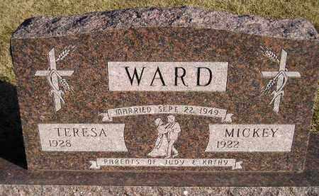 WARD, TERESA - Codington County, South Dakota | TERESA WARD - South Dakota Gravestone Photos
