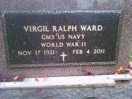WARD, VIRGIL RALPH US NAVY - Codington County, South Dakota | VIRGIL RALPH US NAVY WARD - South Dakota Gravestone Photos