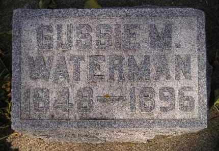 WATERMAN, GUSSIE M. - Codington County, South Dakota | GUSSIE M. WATERMAN - South Dakota Gravestone Photos