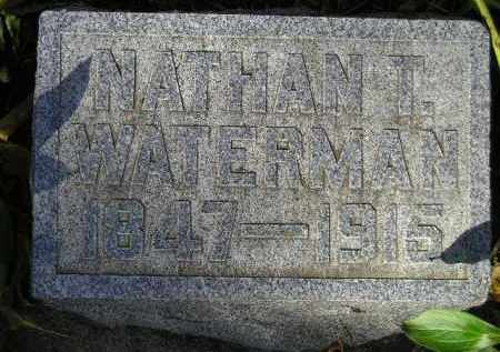 WATERMAN, NATHAN T. - Codington County, South Dakota | NATHAN T. WATERMAN - South Dakota Gravestone Photos