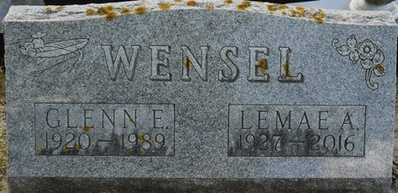 WENSEL, GLENN E. - Codington County, South Dakota | GLENN E. WENSEL - South Dakota Gravestone Photos