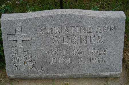 WERNER, CHRISTINE ANN - Codington County, South Dakota | CHRISTINE ANN WERNER - South Dakota Gravestone Photos