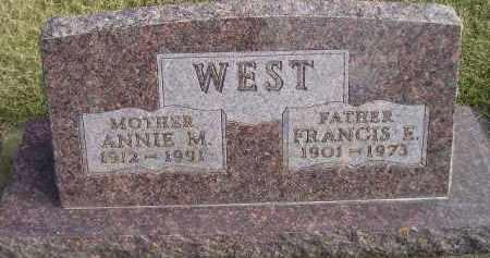 WEST, ANNIE M. - Codington County, South Dakota | ANNIE M. WEST - South Dakota Gravestone Photos