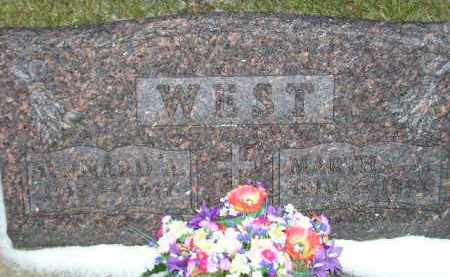 WEST, MARTHA A. - Codington County, South Dakota | MARTHA A. WEST - South Dakota Gravestone Photos