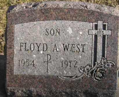 WEST, FLOYD A. - Codington County, South Dakota | FLOYD A. WEST - South Dakota Gravestone Photos