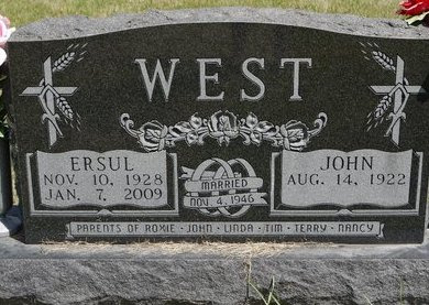 WEST, JOHN E. - Codington County, South Dakota | JOHN E. WEST - South Dakota Gravestone Photos