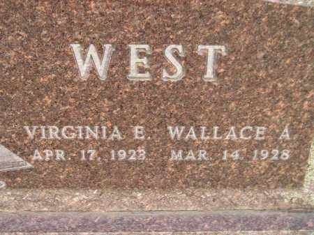 WEST, VIRGINIA E. - Codington County, South Dakota | VIRGINIA E. WEST - South Dakota Gravestone Photos