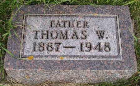 WHITMORE, THOMAS W. - Codington County, South Dakota   THOMAS W. WHITMORE - South Dakota Gravestone Photos