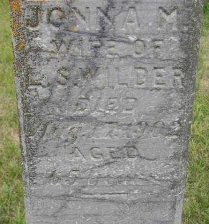 WILDER, JONNA M. - Codington County, South Dakota | JONNA M. WILDER - South Dakota Gravestone Photos