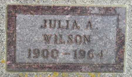 WILSON, JULIA A. - Codington County, South Dakota   JULIA A. WILSON - South Dakota Gravestone Photos