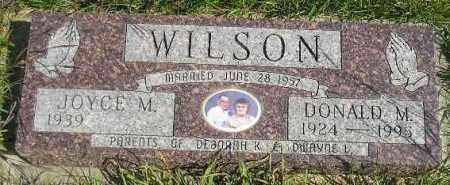 WILSON, DONALD MORTON - Codington County, South Dakota | DONALD MORTON WILSON - South Dakota Gravestone Photos