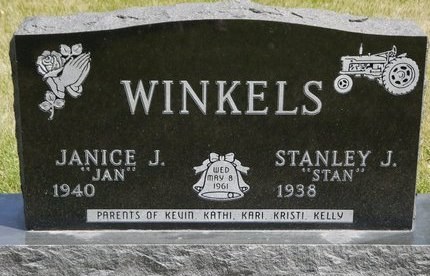 WINKELS, JANICE J. - Codington County, South Dakota | JANICE J. WINKELS - South Dakota Gravestone Photos