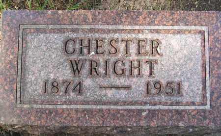 WRIGHT, CHESTER - Codington County, South Dakota | CHESTER WRIGHT - South Dakota Gravestone Photos