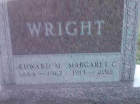 WRIGHT, EDWARD M - Codington County, South Dakota | EDWARD M WRIGHT - South Dakota Gravestone Photos